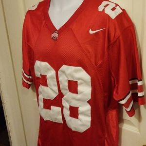 Nike OHIO STATE BUCKEYES Sewn Authentic Jersey